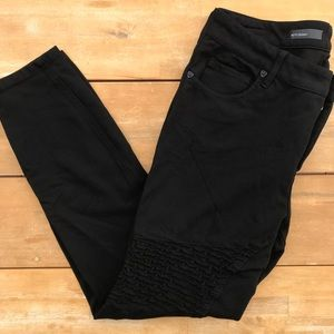 Kut from the Kloth Moto Skinny Jeans size 12